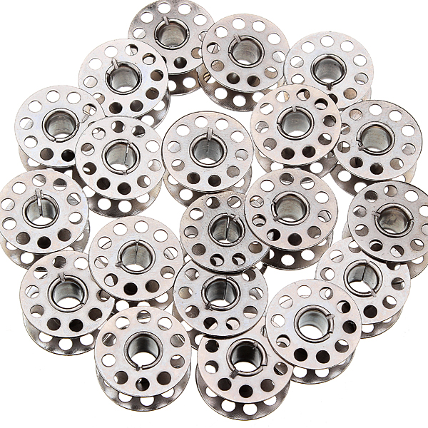 20Pcs Sewing Machine Bobbins For Kenmore Viking White Singer Class Metal Bobbins Today's Special Offer!