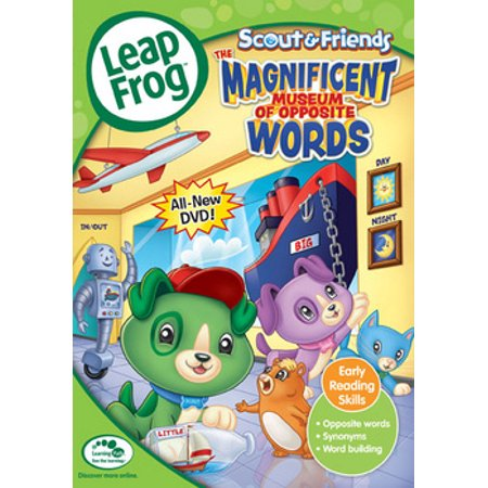 Leapfrog A Tad Of Christmas Cheer Dvd.Leapfrog The Magnificent Museum Of Opposite Words Dvd