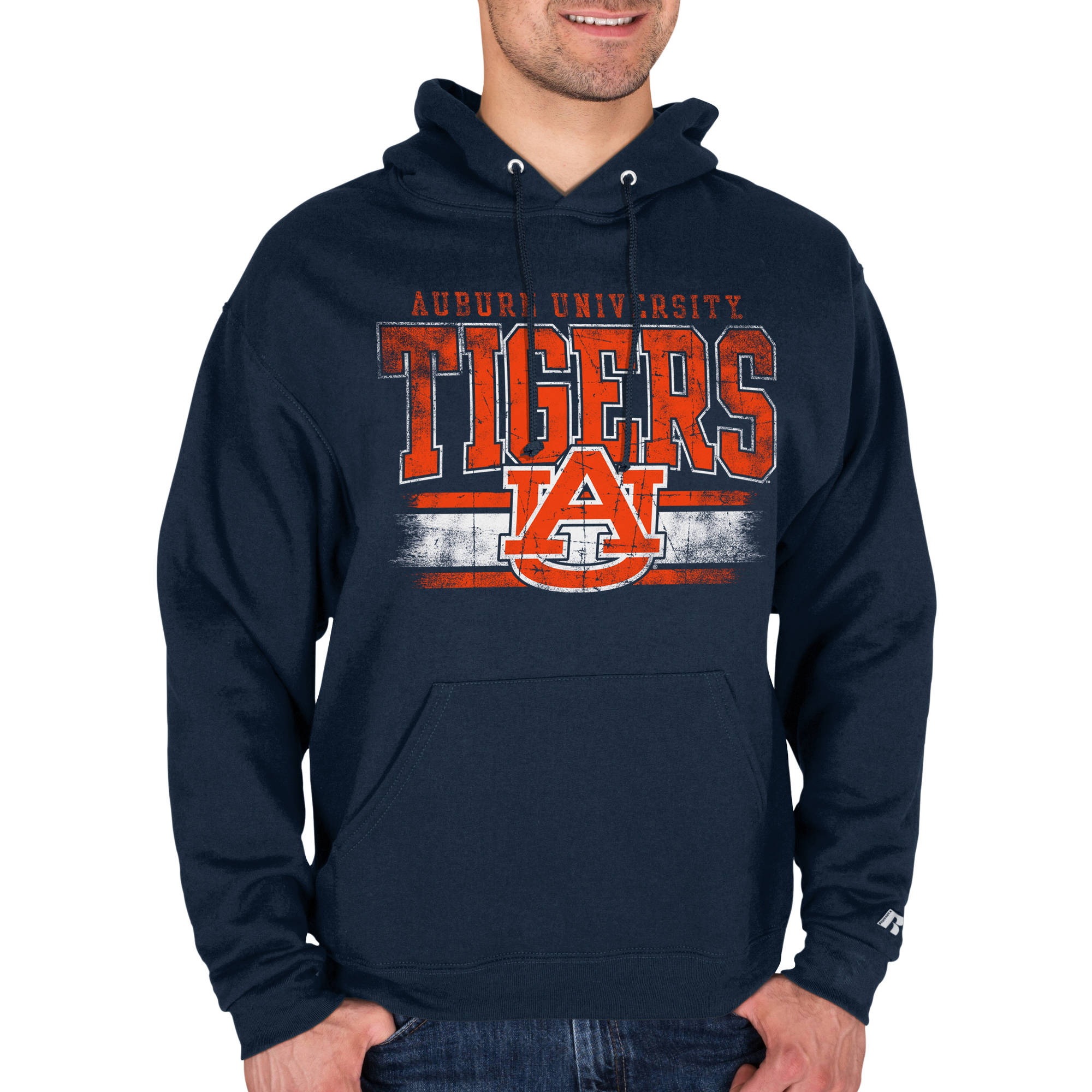 Russell NCAA Auburn Tigers Men's Impact Pullover ie