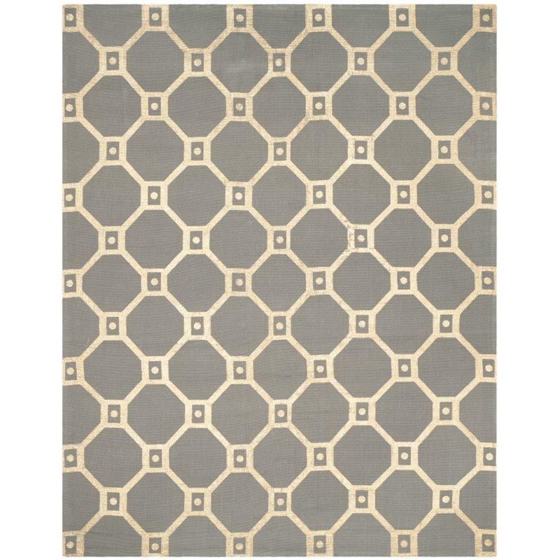 "Safavieh Cedar Brook 7'3"" X 9'3"" Handmade Jute Rug in Gray and Gold - image 6 of 8"