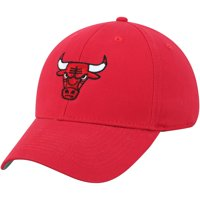 Men's Red Chicago Bulls Mass Basic Adjustable Hat - OSFA