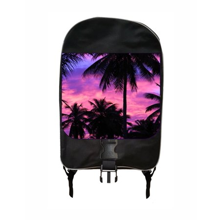 Purple Palm Tree Silhouette Sunset Jacks Outlet™ School Backpack ()