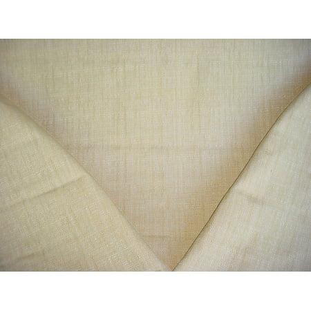 P Kaufmann / Braemore / Waverly Raffia in Linen - Heavy Woven Basketweave Designer Upholstery Drapery Fabric - By the Yard