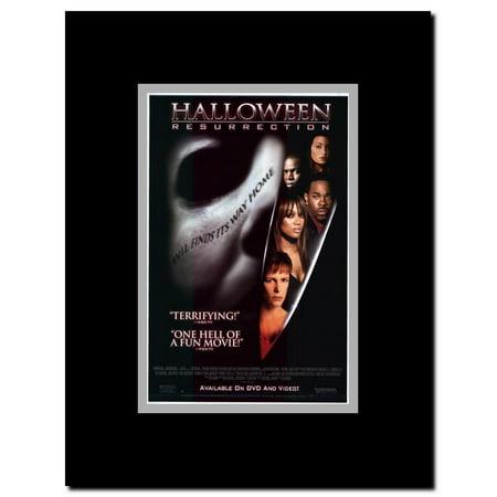 Halloween: Resurrection Framed Movie Poster - Halloween Ressurection