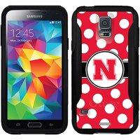 Nebraska Polka Dots Design on OtterBox Commuter Series Case for Samsung Galaxy S5