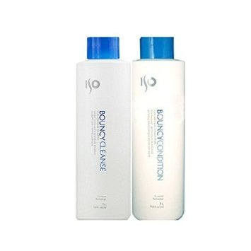 ISO Bouncy Cleanse Curl-defining Shampoo and Conditioner - 33.8 Oz Each - image 2 de 3