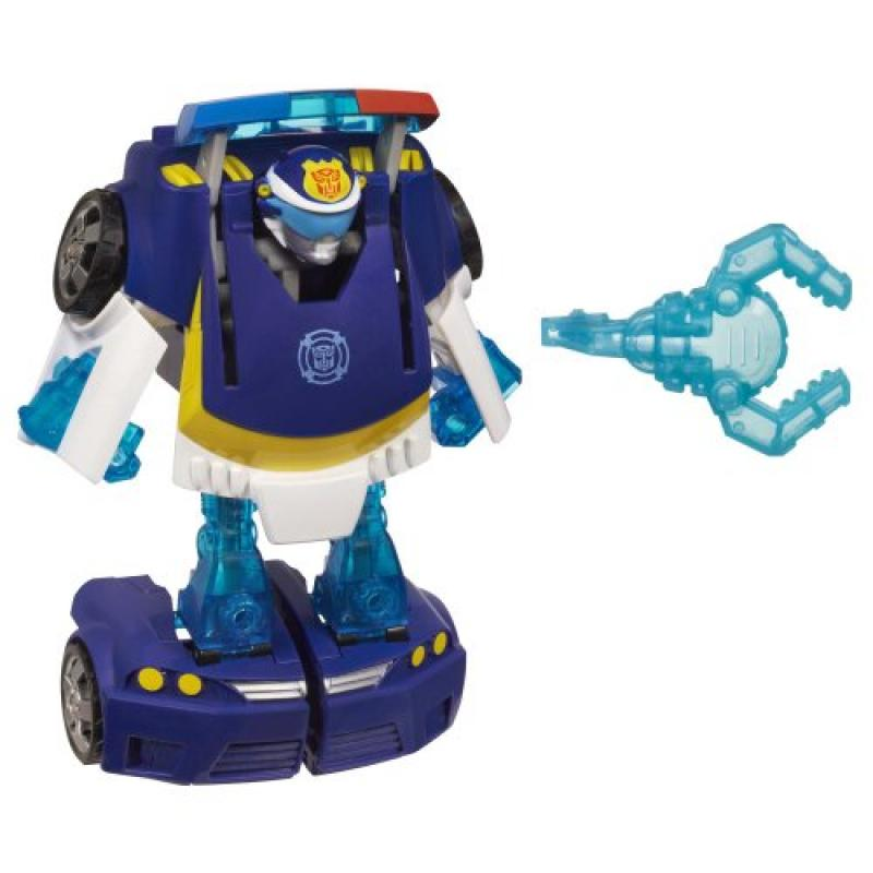 Playskool Heroes Transformers Rescue Bots Energize Chase the Police-Bot Figure by Hasbro