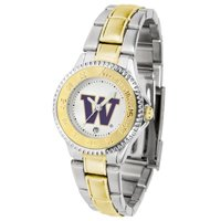 Suntime ST-CO3-WAH-COMPLMG Washington Huskies-Competitor Ladies Two-Tone Watch