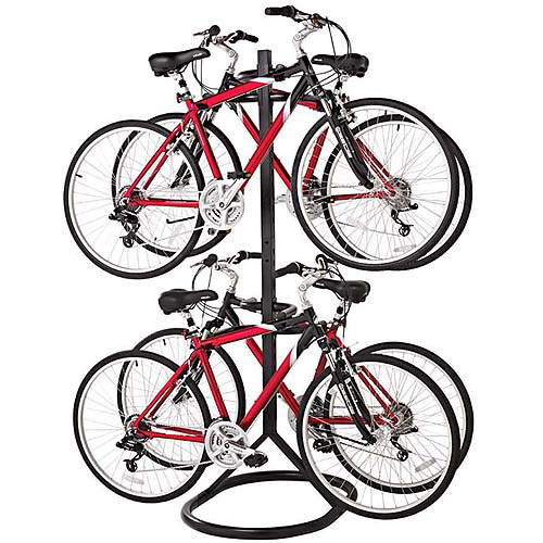 Racor Freestanding Bike Rack, Black