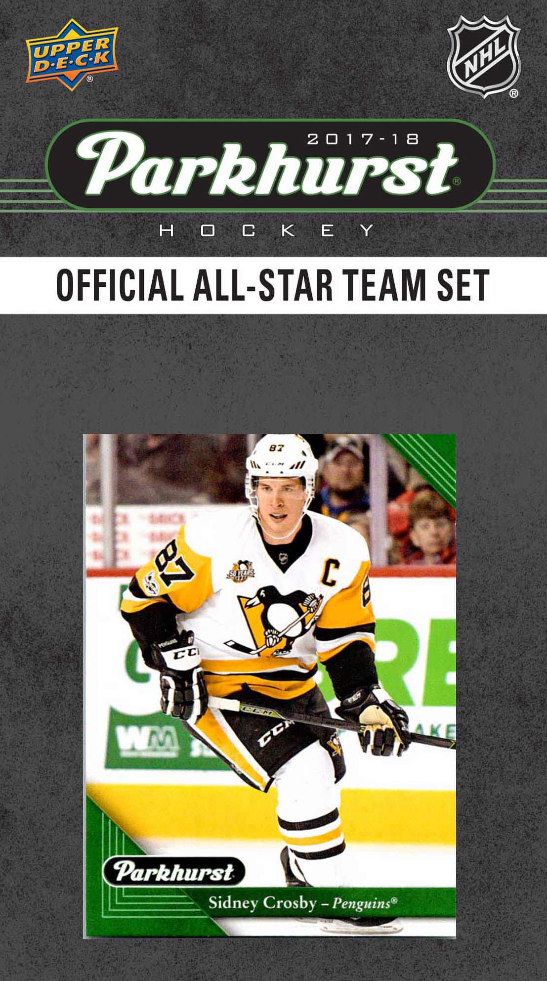 2017 2018 Upper Deck PARKHURST Official All Star Series NHL Hockey 10 Card Set Featuring... by Topps