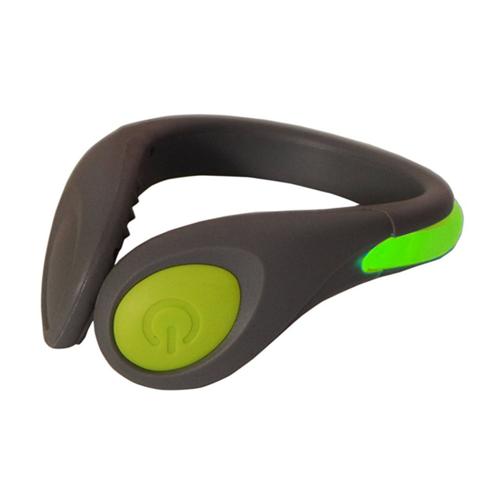 High Visibility Bright LED Light Strip Shoe Clip Light Reflectant For Night Jogging Running