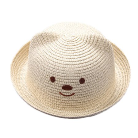Summer Baby Cartoon Children Breathable Hat Straw Hat Kids Hat Boy Girls Hat Cap