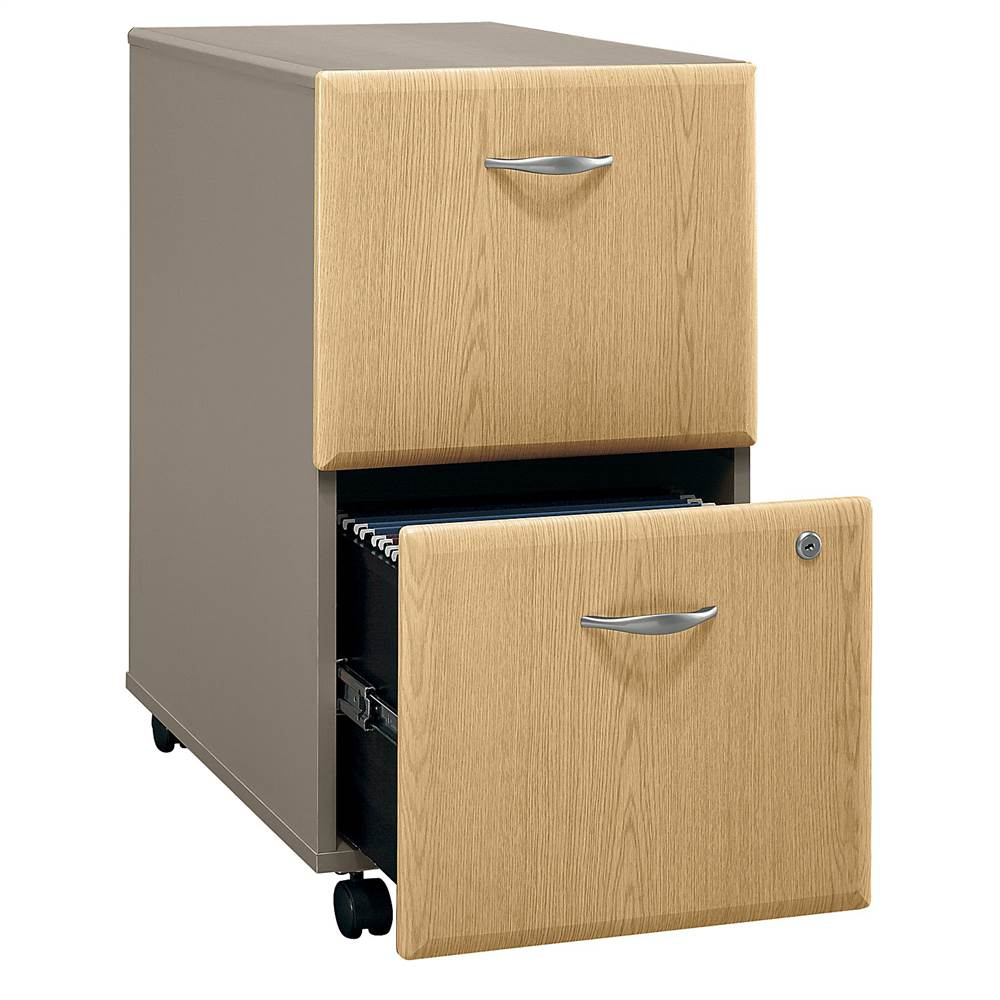 Rolling Two-Tone Cabinet - Series A