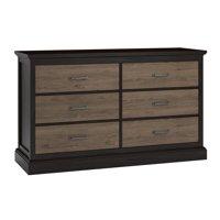 Cresthaven 6 Drawer Dresser, Multiple Colors