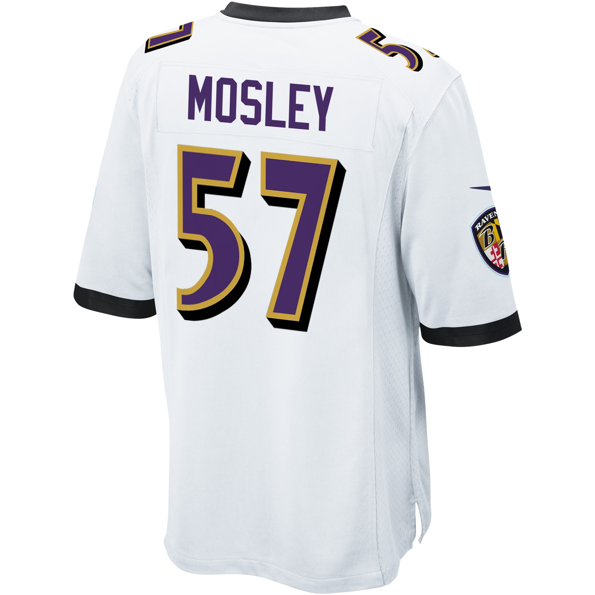 C.J. Mosley Baltimore Ravens Nike Youth Game Jersey - White
