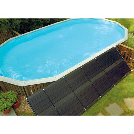 SunHeater Universal 2' x 20' Solar Heating Panel for In Ground or Above Ground Pool 40 Sq