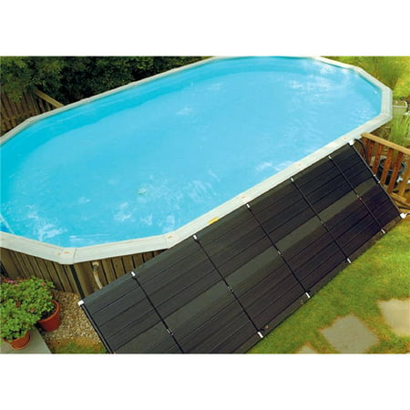 SunHeater Universal 2' x 20' Solar Heating Panel for In Ground or Above Ground Pool 40 Sq Ft