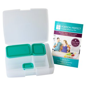 Lunch Prep Weight Loss Kit Portion Perfect Bentology 9 Piece set