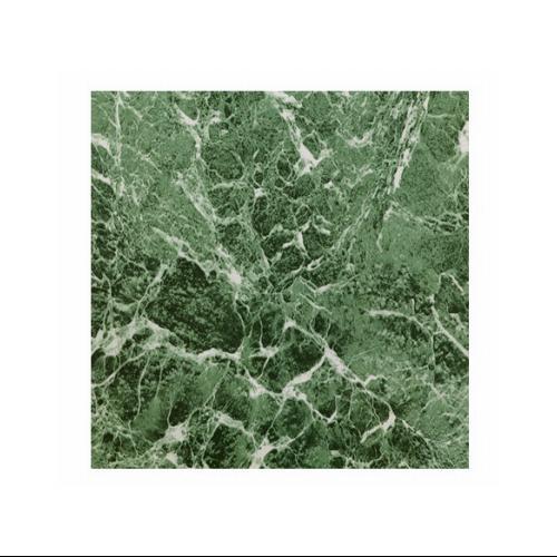 Max KD0108 Green Marble Peel & Stick Vinyl Floor Tile, 12 x 12-In.