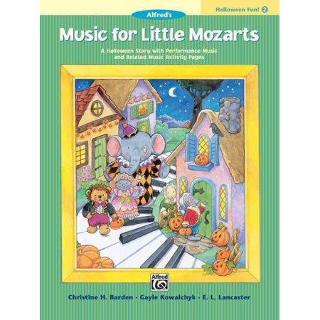Music for Little Mozarts Halloween Fun (Music Halloween Worksheets)