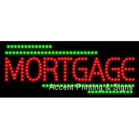 Mortgage Led Sign  High Impact  Energy Efficient