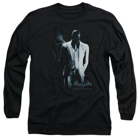 Batman Arkham Origins/Black Mask   L/S Adult 18/1   Black     Bao107](Halloween's Origins)