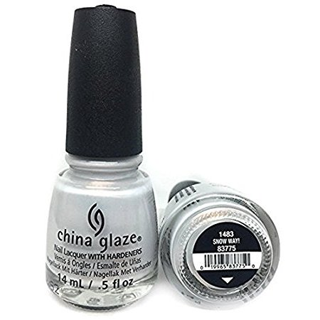 China Glaze Nail Polish - #83775 SNOW WAY!