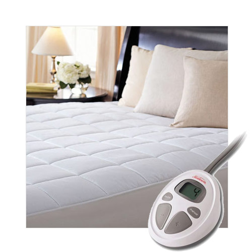 Sunbeam CC7 Premium Luxury Quilted Electric Heated Mattress Pad