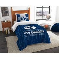 "NCAA BYU Cougars ""Modern Take"" Bedding Comforter Set"