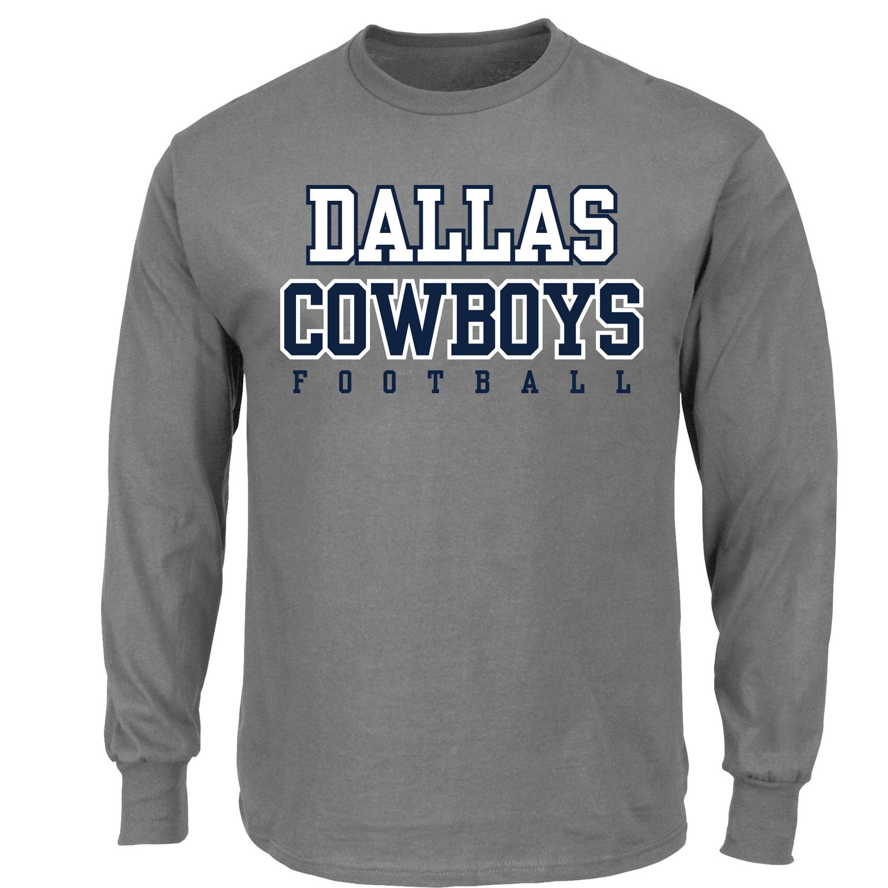 NFL Dallas Cowboys Men's Big and Tall Long Sleeve Tee