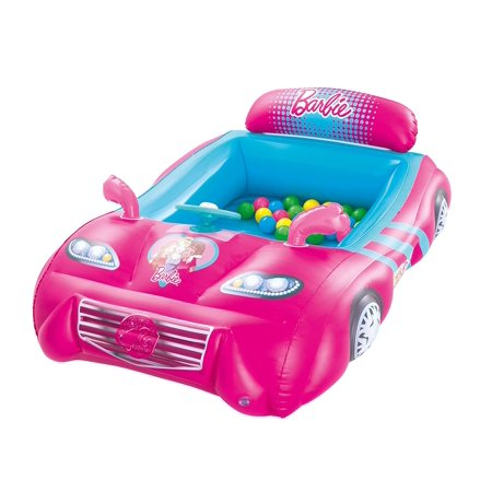 Barbie Sports Car Ball Pit, 53 x 39 x 17 inflated size By (Best Way To Get Wifi In Car)