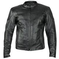 xelement b7209 renegade mens black leather motorcycle jacket