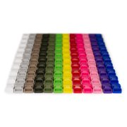 120- 5/8 Inch Contoured Side Release Plastic Buckle Closeout, Assorted Colors