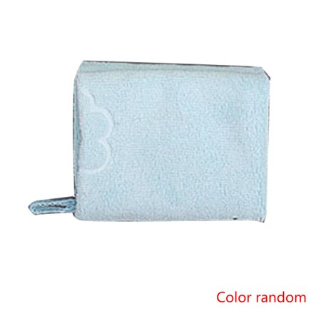 3PCS Random Color Microfiber Cleaning Cloth Thicken Soft Towel Bowl/Cup/Pot Clean Cloth Bathroom Kitchen Accessories - image 1 of 8