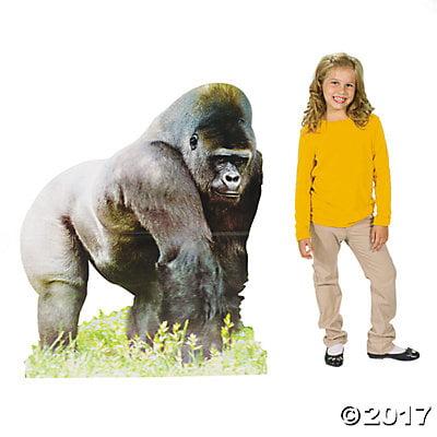Safari Gorilla Cardboard Stand-Up