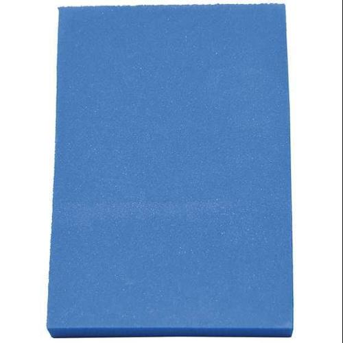 CLARK FOAM 1001340BLU Kitting Sheet, Polyethylene, Blue, 1/2 in.