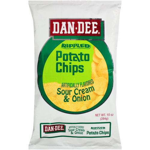 Dandee Sour Cream and Onion Chip, 8.5 Oz