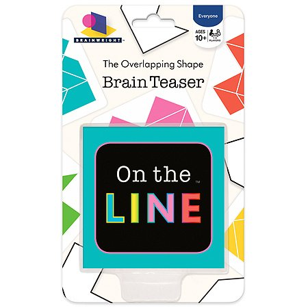 On The Line, The Overlapping Shape Brainteaser