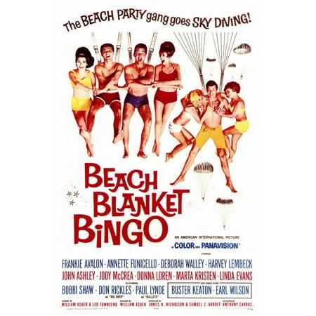 Beach Blanket Bingo (1965) 27x40 Movie Poster