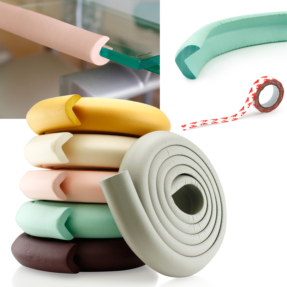 Toddlers Kids Baby Safety Softy Desk Table Edge Bumper Guard Protection Cushion Cover Protector