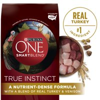 Purina ONE High Protein Natural Dry Dog Food; SmartBlend True Instinct With Real Turkey & Venison (Various Sizes)