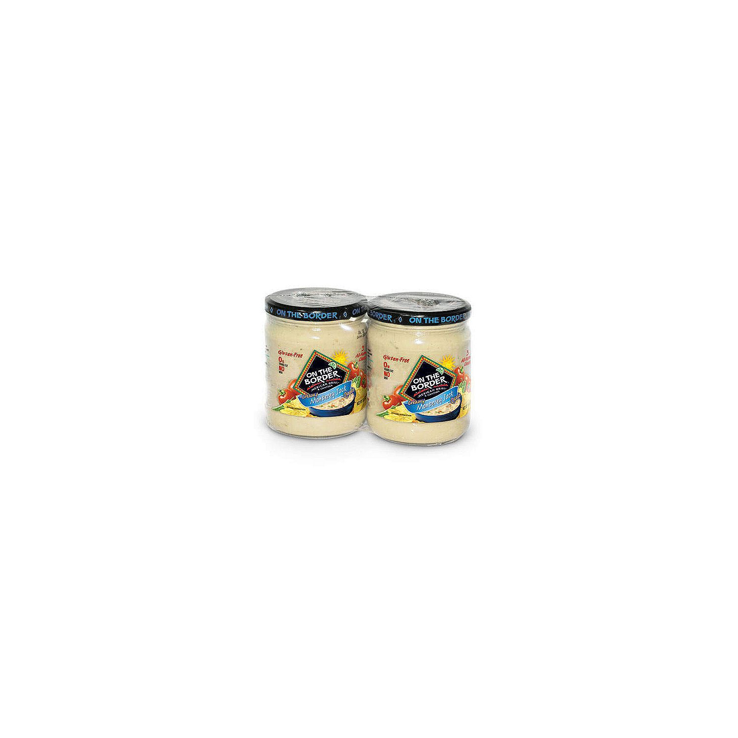 On The Border Monterey Jack Queso 2 pk. by