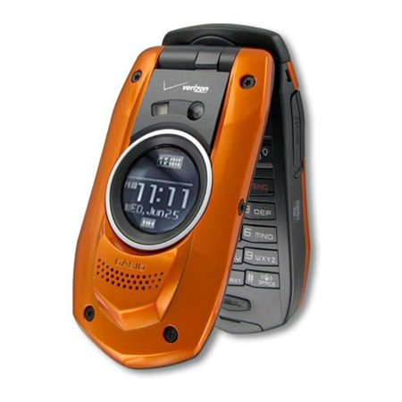 Casio G'zOne Boulder C711 - Orange(Verizon) Cellular Phone manufacture - C711 Casio Gzone Boulder