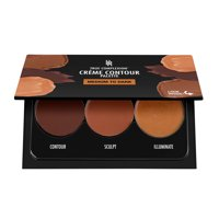 Black Radiance True Complexion Cr&acuteme Contour Palette, Medium to Dark
