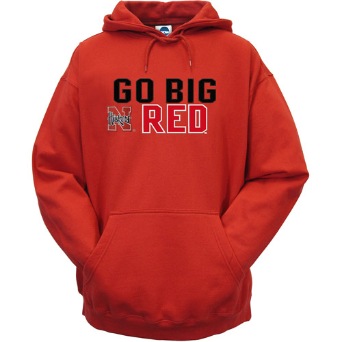 NCAA Men's Nebraska Hooded Sweatshirt