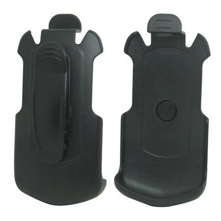 For Sprint Kyocera DuraXTP E4281 Black Swivel Belt Clip Holster (Black Holster)