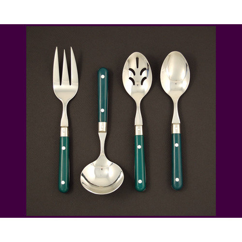 Ginkgo LePrix 4 Piece Flatware Set