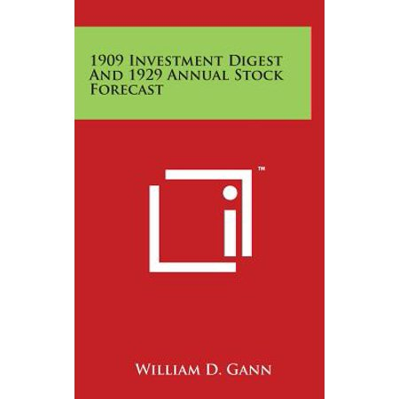 1909 Investment Digest and 1929 Annual Stock Forecast (1909 Stock)