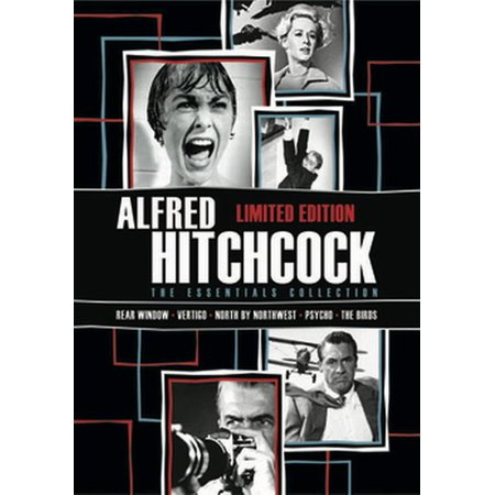 Alfred Hitchock: The Essentials Collection (DVD) (Alfred Hitchcock The Essentials Collection Limited Edition)