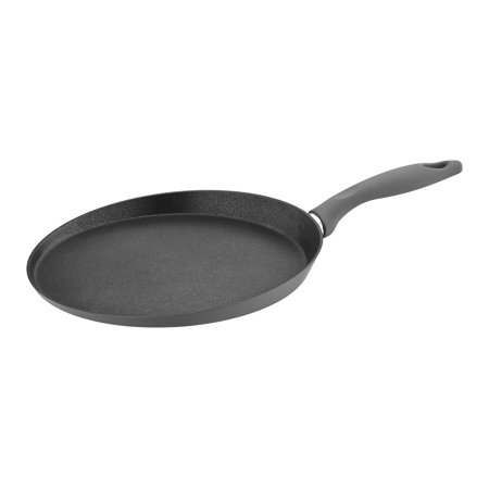 Saflon Titanium 11 Inch Crepe Pan Forged Aluminum with 3-Layer Non-Stick PFOA Free Scratch Resistant Coating Dishwasher Safe